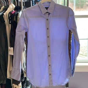 J Crew button down with sequined side detail